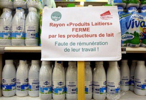 Proposition de résolution pour assurer la survie et la continuité d'une production laitière durable